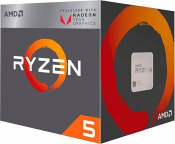 Procesoare Procesor AMD Ryzen 5 2400G 3.6GHz Socket AM4 Box