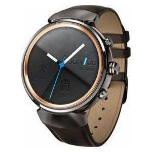 Smartwatch SmartWatch Asus ZenWatch 3 WI503Q Otel Inoxidabil si Curea Piele Maro
