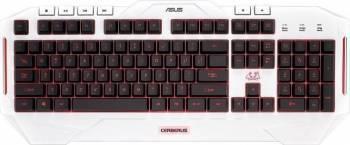 Tastaturi Gaming Tastatura Gaming Asus Cerberus Arctic USB White