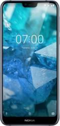 Telefoane Mobile Telefon mobil Nokia 7.1 64GB Dual SIM 4G Gloss Midnight Blue