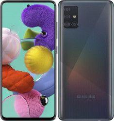 Telefoane Mobile Telefon mobil Samsung Galaxy A51 A515 128GB Dual SIM 4G Prism Crush Black