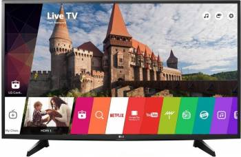 Televizoare LCD LED Televizor LED 108cm LG 43LH590V Full HD Smart TV